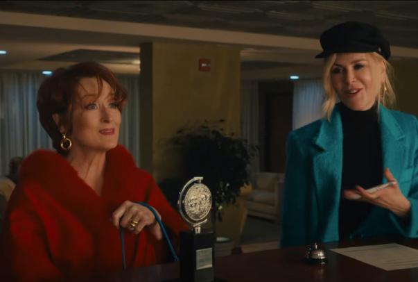 """Meryl Streep e Nicole Kidman em cena de """"The Prom"""" (Reprodução)"""