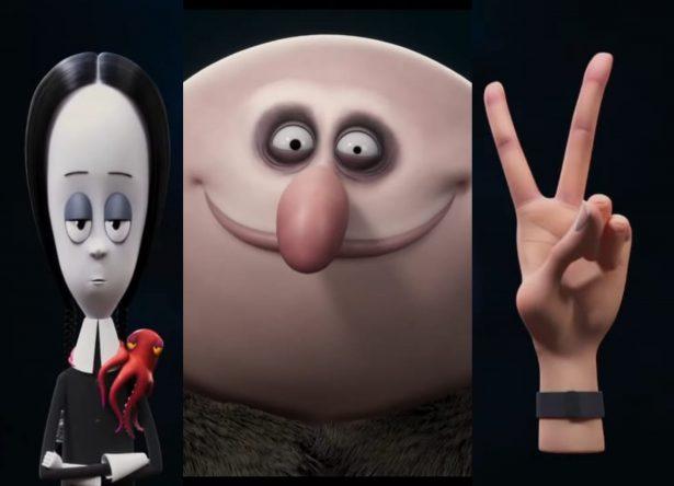 """Cenas do teaser de """"A Família Addams 2"""" (Reprodução)"""