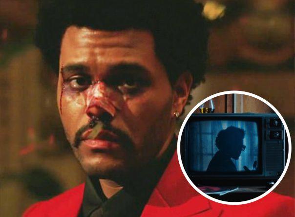 """The Weeknd no clipe de """"Until I Bleed Out"""" (Reprodução)"""