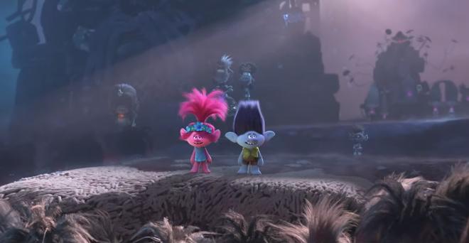 """Cena do vídeo de """"Trolls 2"""" (Reprodução)"""