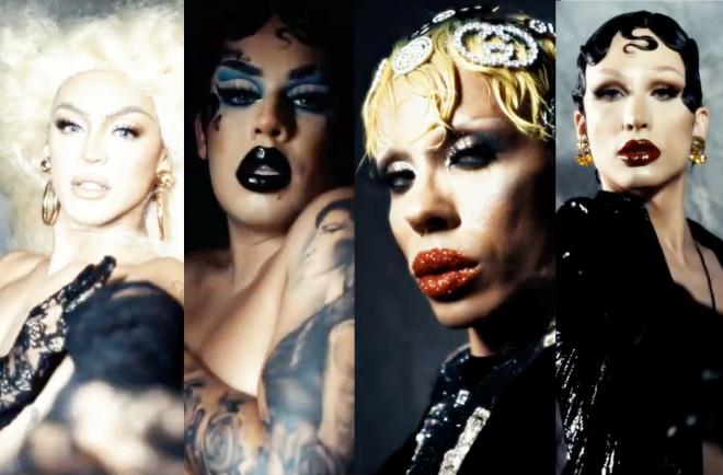 Cenas de vídeo da Vogue Brasil (Reprodução)