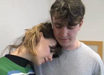 """Daisy Edgar-Jones e Paul Mescal em audição para """"Normal People"""" (Reprodução)"""