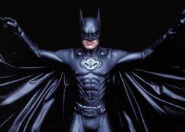 """George Clooney diz que """"dói fisicamente"""" assistir ao filme """"Batman e Robin"""""""