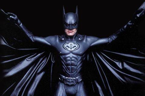 Geoge Clooney como Batman (Foto de Divulgação)