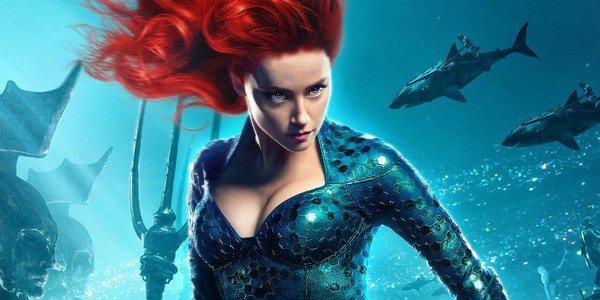 """Amber Heard interpretou a Rainha Mera em """"Aquaman"""" (Divulgação)"""