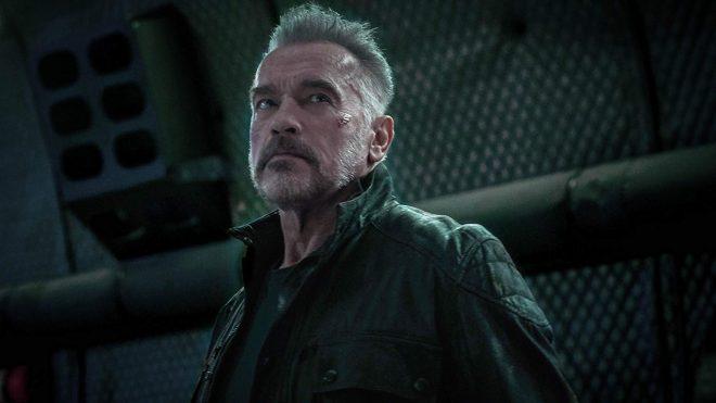"""Arnold Schwarzenegger em """"O Exterminador do Futuro: Destino Sombrio"""" (Reprodução)"""