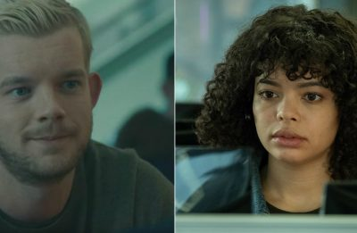 """Russell Tovey em """"Looking"""" e Lydia West em """"Years & Years"""" (Reprodução)"""