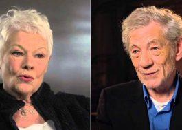 Judi Dench, Ian McKellen e mais participarão de evento virtual para ajudar profissionais do teatro
