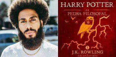 "Ícaro Silva narra ""Harry Potter""!"