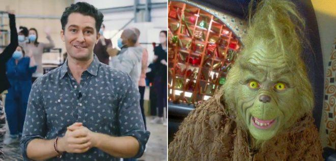 Matthew Morrison interpretará o Grinch em especial da NBC (Reprodução)
