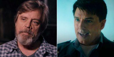 """Hamill atuou com Prowser em """"Star Wars"""" e Barrowman o conheceu em """"Doctor Who"""" (Reprodução)"""