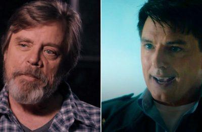 """Hamill atuou com Prowser em """"Star Wars"""" e Barrowman, em """"Doctor Who"""" (Reprodução)"""