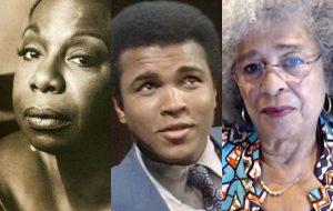 """""""Falas Negras"""": especial da Globo trará histórias de Nina Simone, Muhammad Ali, Angela Davis e mais"""