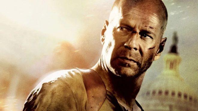 """Bruce Willis é conhecido, principalmente, por protagonizar a franquia de filmes """"Duro de Matar"""" (Divulgação)"""