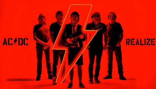 """Capa da nova música """"Realize"""", de AC/DC (Divulgação)"""