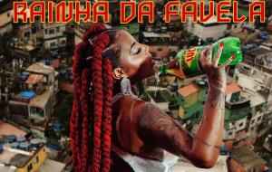 """Tudo! Ludmilla divulga capa do single """"Rainha da Favela"""", que chega na quinta-feira (12)"""
