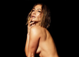 "Jennifer Lopez posa nua para capa de ""In The Morning"", single que chega na sexta (27)"