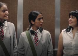 """Anavitória e Duda Beat brincam com referências cinematográficas no clipe de """"Não Passa Vontade"""""""