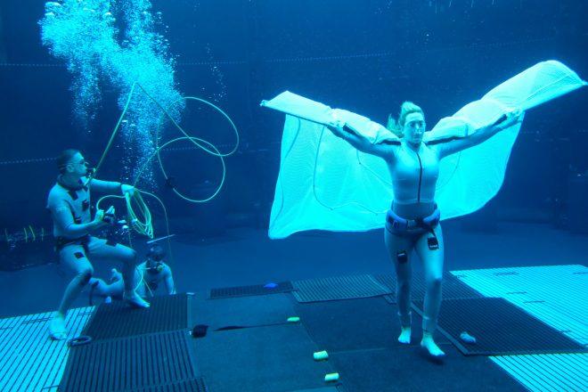 """Kate Winslet em set de """"Avatar 2"""" (Reprodução/Instagram)"""