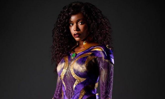 Anna Diop como Estelar em novo visual (Divulgação)
