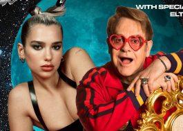 "Dua Lipa anuncia Elton John como convidado especial da live ""Studio 2054"""