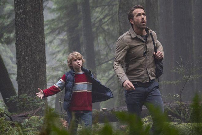 Ryan Reynolds será filho de Mark Ruffalo no filme sobre viagem no tempo (Divulgação)