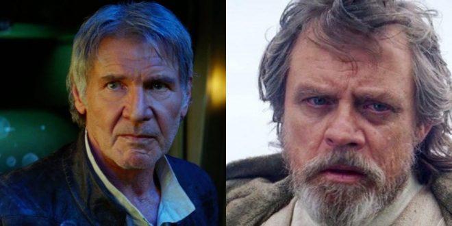 Harrison Ford e Mark Hamill narraram vídeos em apelo aos eleitores estadunidenses (Reprodução)
