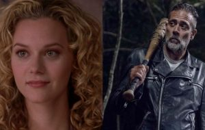 "Hilarie Burton se junta ao elenco de ""The Walking Dead"" ao lado do marido, Jeffrey Dean Morgan"