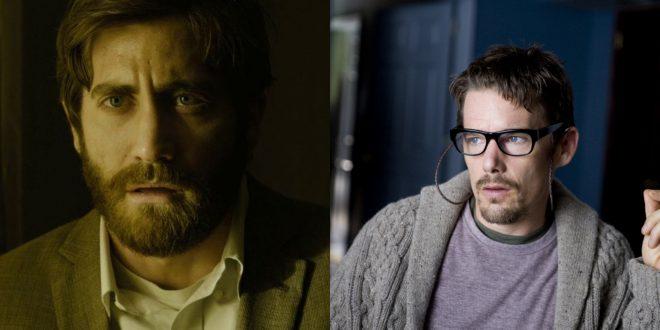 "Jake Gyllenhaal em ""Enemy""/Ethan Hawke em ""Sinister"" (Reprodução)"