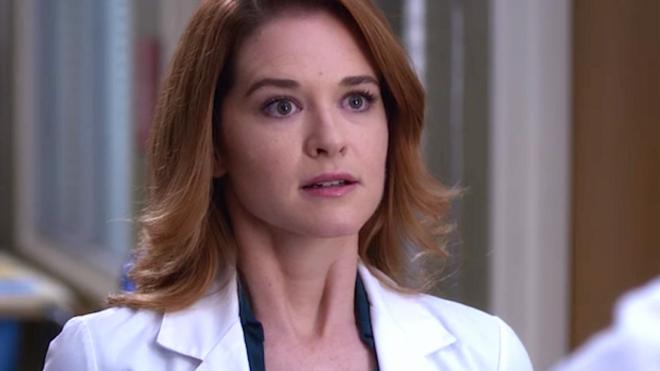 """Sarah Drew em """"Grey's Anatomy"""" (Reprodução)"""