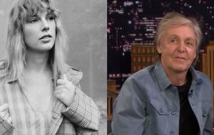 Taylor Swift e Paul McCartney compartilham histórias em conversa para a Rolling Stone