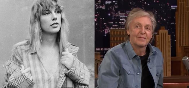 Encontro de gerações: Swift e McCartney compartilharam histórias e experiências de vida (Divulgação/Reprodução)