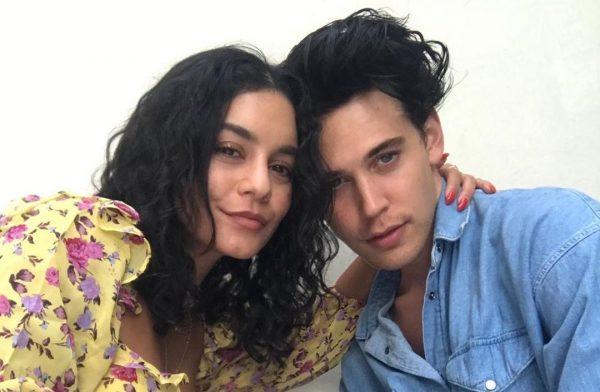 Vanessa Hudgens e Austin Butler em foto publicada no Instagram (Reprodução)