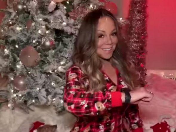 Mariah Carey em vídeo no Instagram (Reprodução)