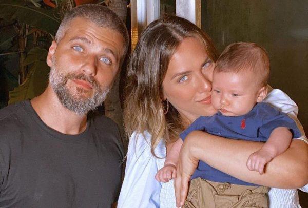 Bruno Gagliasso e Giovanna Ewbank em foto publicada no Instagram (Reprodução)