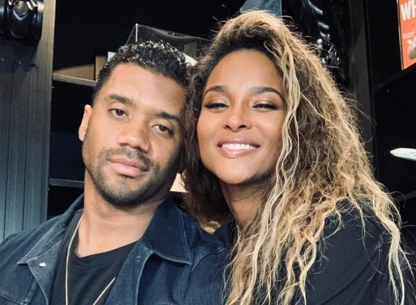 Russell Wilson e Ciara em foto publicada no Instagram (Reprodução)