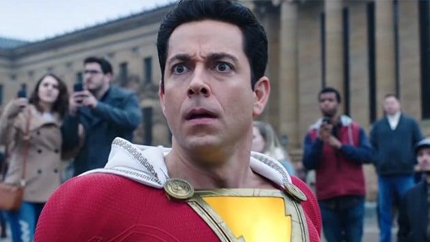 Zachary Levi ficou conhecido após interpretar o super-héroi no filme de 2018 (Reprodução)