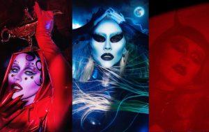 Gênio da lâmpada, alien e demônio: já viu as fantasias de Halloween da Christina Aguilera?