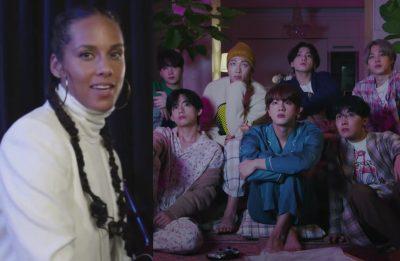 O grupo compartilhou o vídeo e agradeceu a artista (Reprodução)