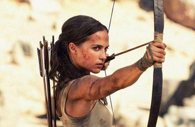 """Alicia Vikander é a protagonista da franquia """"Tomb Raider"""", cuja sequência começará a ser gravada em 2021. (Reprodução)"""