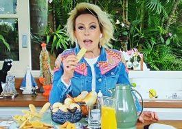 """Ana Maria Braga faz ASMR no """"Mais Você"""" e fica entre assuntos mais comentados do Twitter"""