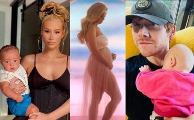 Iggy Azalea, Katy Perry e Rupert Grint tiveram filhos neste ano (Reprodução)