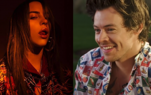 Harry Styles e Billie Eilish juntos em minissérie da Gucci