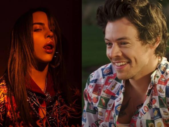 Os cantores irão estrelar série de vídeos da marca Gucci (Reprodução)