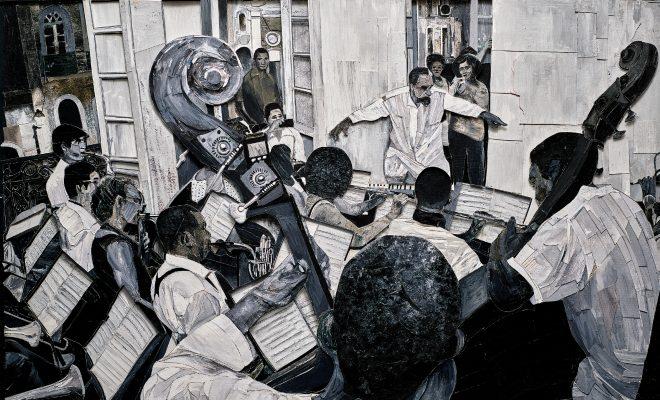 """Capa do álbum """"Orín, a Língua dos Anjos"""" (Divulgação/Vik Muniz)"""