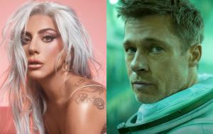 """Lady Gaga deve se juntar a Brad Pitt no filme de ação """"Bullet Train"""", diz site"""