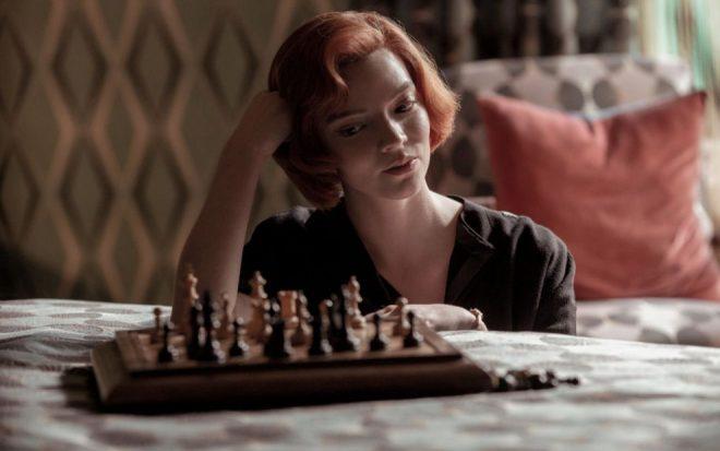 Minissérie impulsionou a venda de jogos de xadrez no eBay (Reprodução)