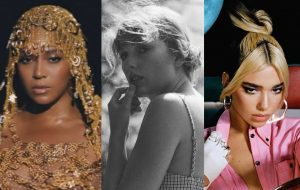 Beyoncé, Taylor Swift e Dua Lipa são as grandes indicadas do Grammy 2021