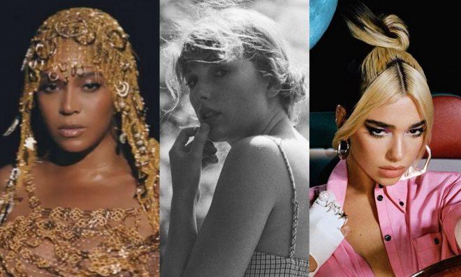 Beyoncé lidera com 9 indicações