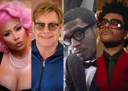 Nicki Minaj, Elton John e Kid Cudi falam sobre Grammy e The Weeknd
